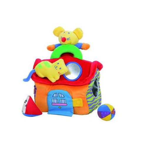 Casita Actividades Bolsa Pvc 18 Cm