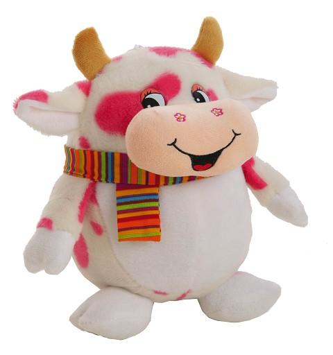 Hucha Vaca Con Sonido Vaca 25 cm.