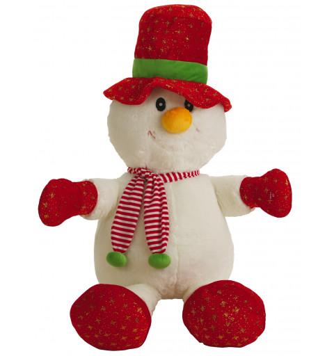 Muñeco de Nieve Sonido Navidad 90 Cm