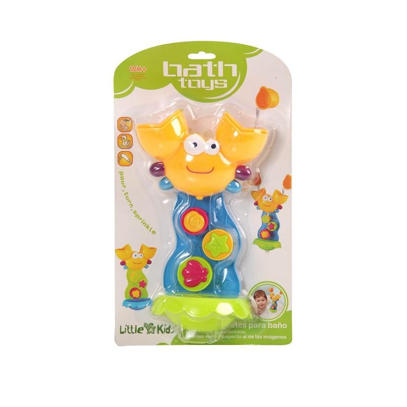 Set De Baño Infantil:BEBES / INFANTIL > Set de Baño Cangrejo 35X21X8,