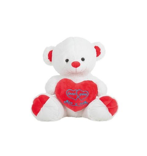 Oso 3 Love Rojo-Rosa-Lila