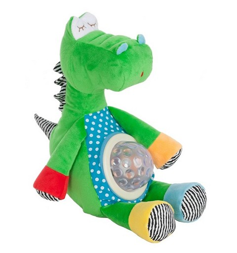 Dragon Verde Luz y Musica C/Caja/Pilas 30Cm
