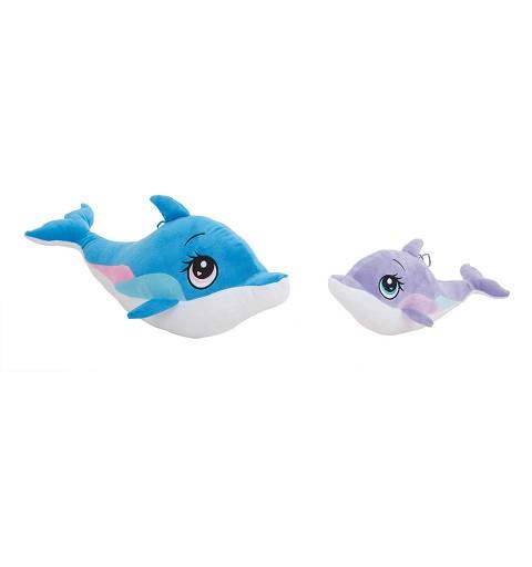 Delfin de Peluche Azul 22 cm