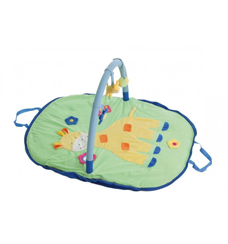Mantita Actividades 100 X 80 Cm Jirafa Multicolor