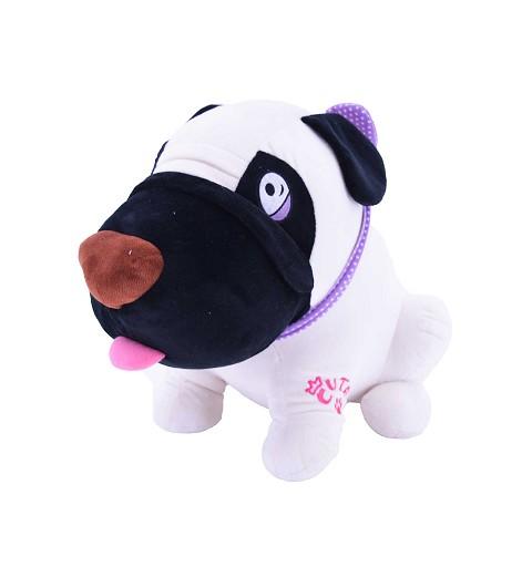 Perro blanco morro negro 65...