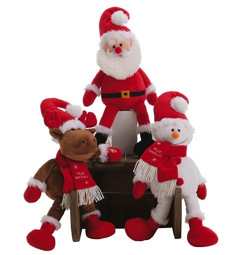 Reno Papa Noel-Muñeco de...