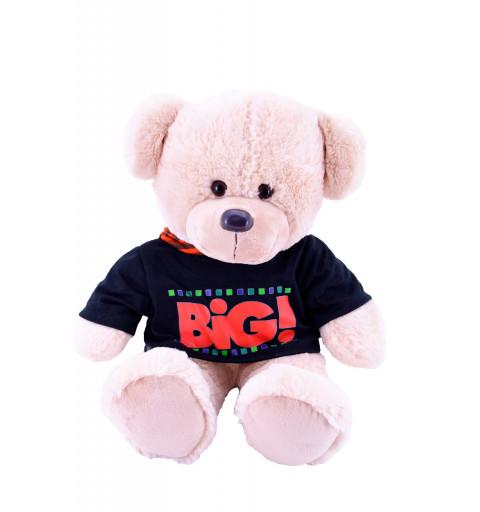 Oso Camiseta Negra Big 55 cm