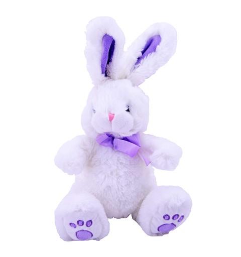 Conejo Lazo Lila 50 cm
