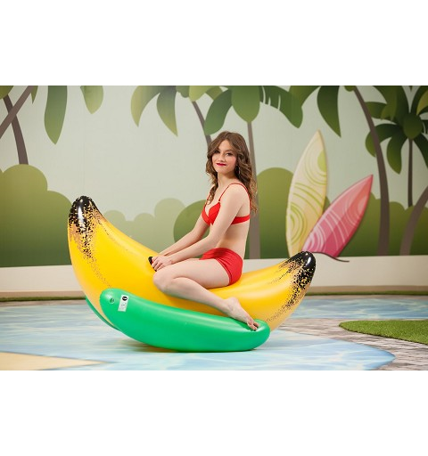 Banana Hinchable Piscina 133x74 cm