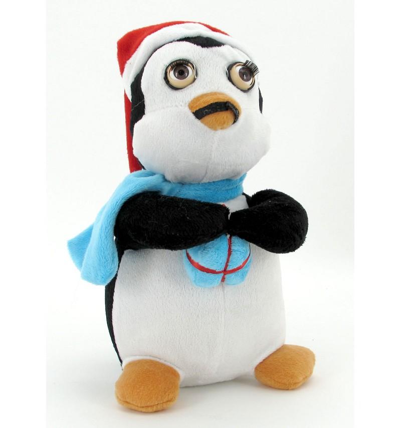 Pingüino Pestañas 30Cm
