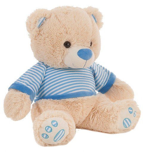 Oso De Peluche By - Blue