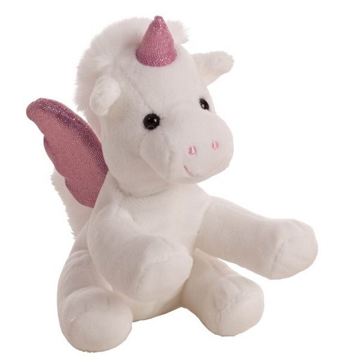 Unicornio de peluche 15 cm