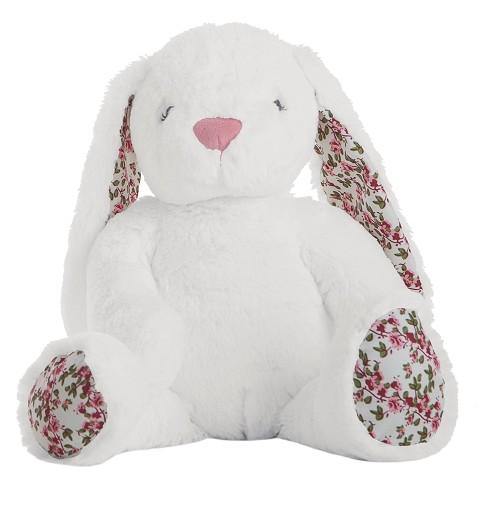 Conejo Flores Blanco En...