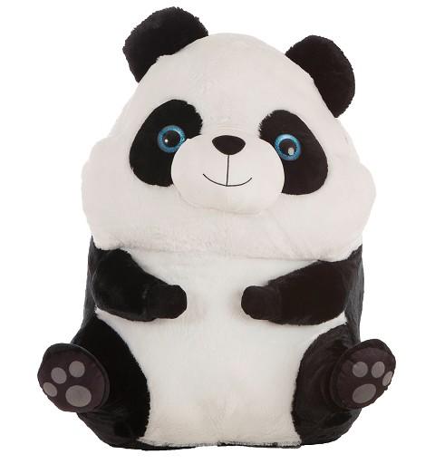 Oso Panda De Peluche Bolita
