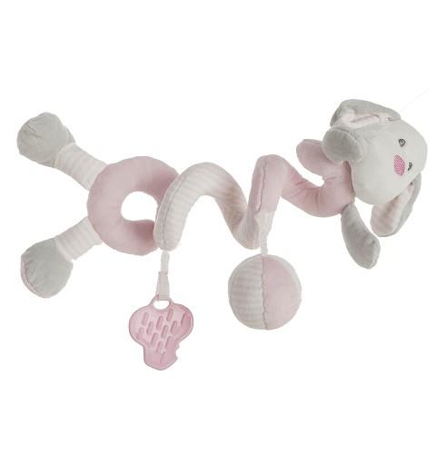 Perro Pink Espiral 25 cm