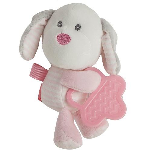 Perro Pink con Mordedor 20 cm