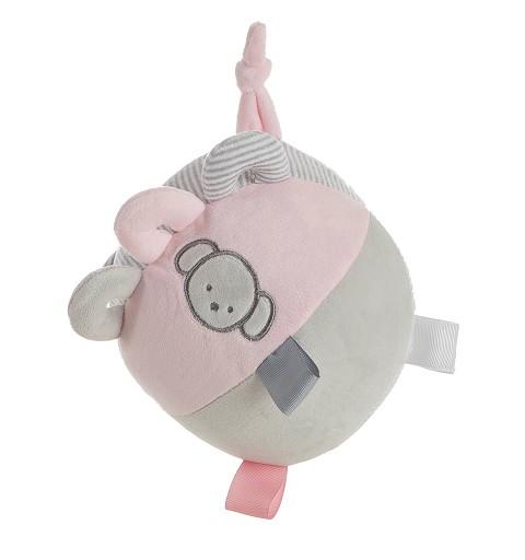 Pelota Perro Pink 18 cm...