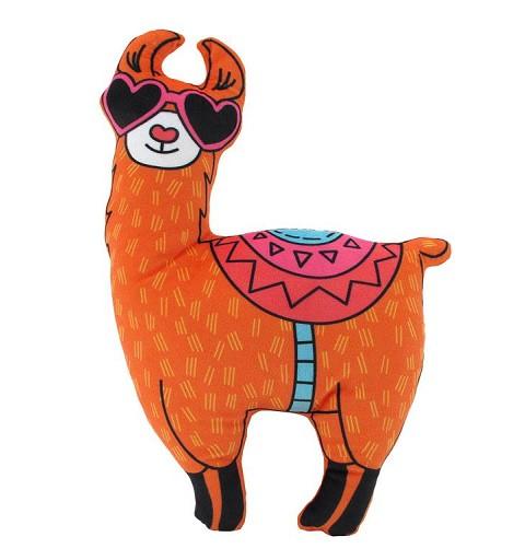 Llama De Peluche Gafas