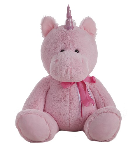 Unicornio De Peluche Party Rosa