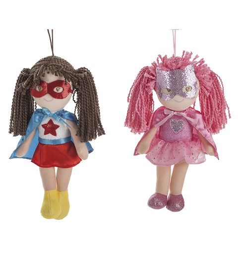 Muñeca De Trapo Super Girls...