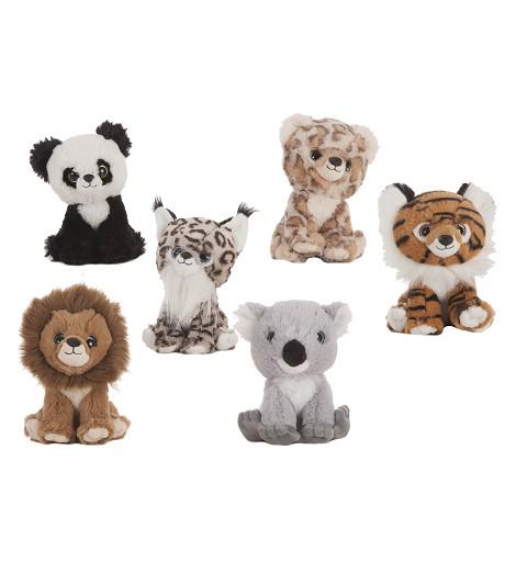 Leon-Tigre-Panda-Leopardo-Koala-Lince De Peluche