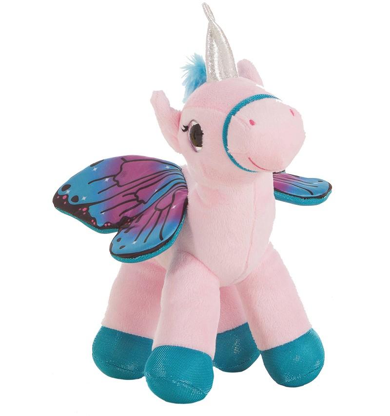 Unicornio De Peluche Katy Alas Mariposa