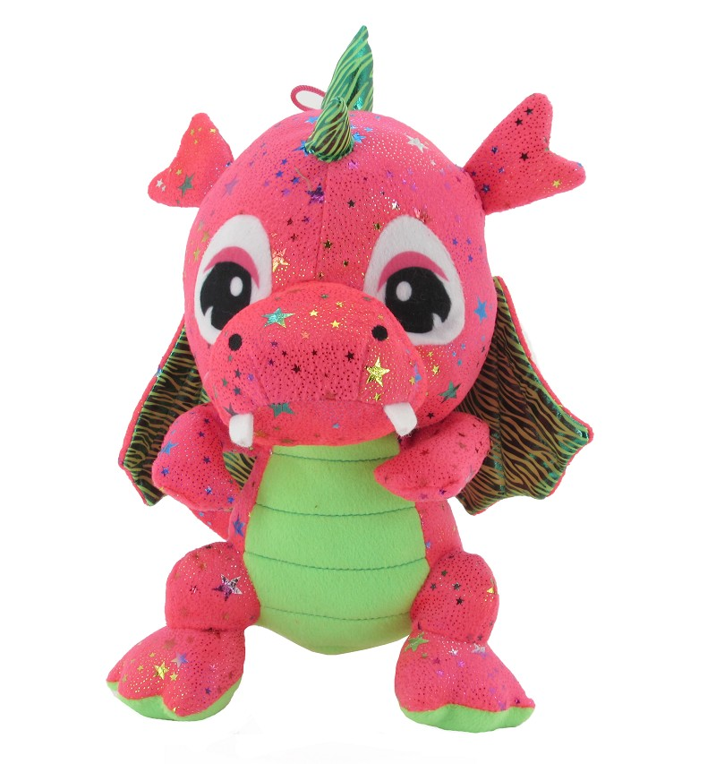 Dragon De Peluche Rus Estrellas
