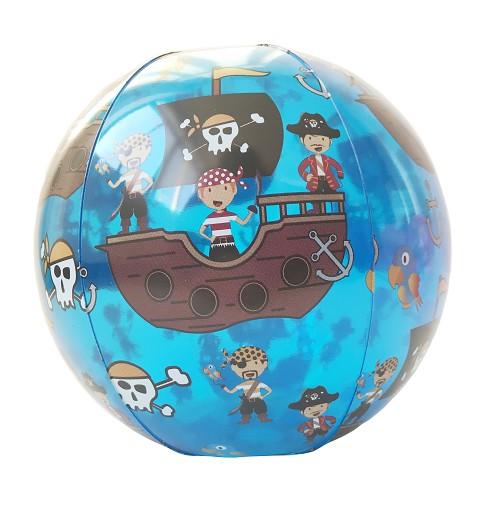 Hinchable Pelota Pirata 50Cm
