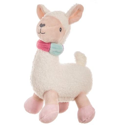 Llama Peluche Sonajero 24 cm
