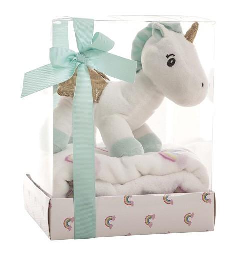 Manta Unicornio de Peluche...