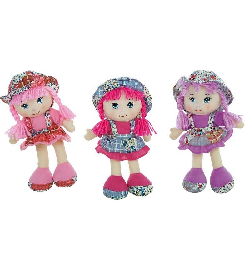 Muñecas Traje Flores