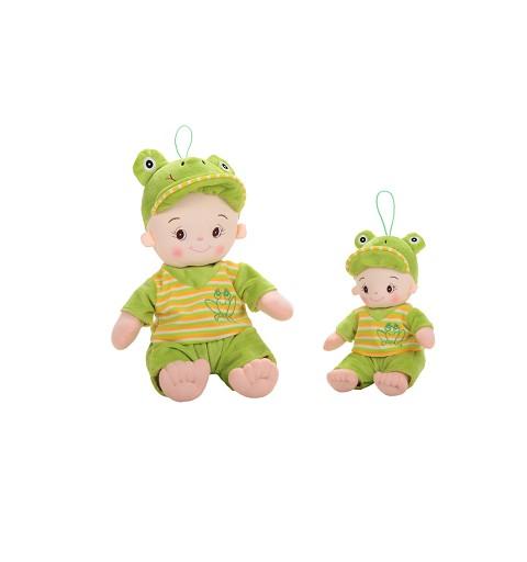 Muñeca Baby 25Cm Verde En Caja