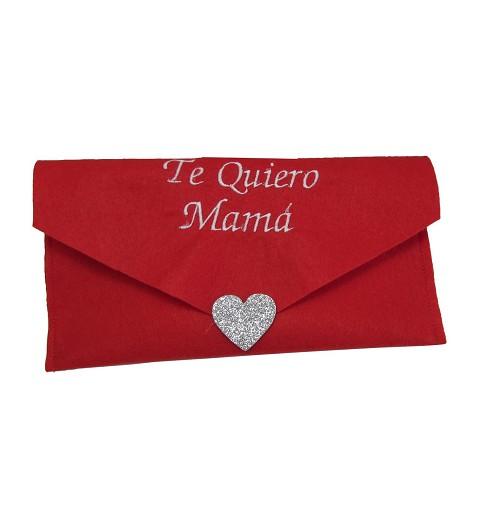 """Sobre Mensaje """"Te quiero Mamá"""""""