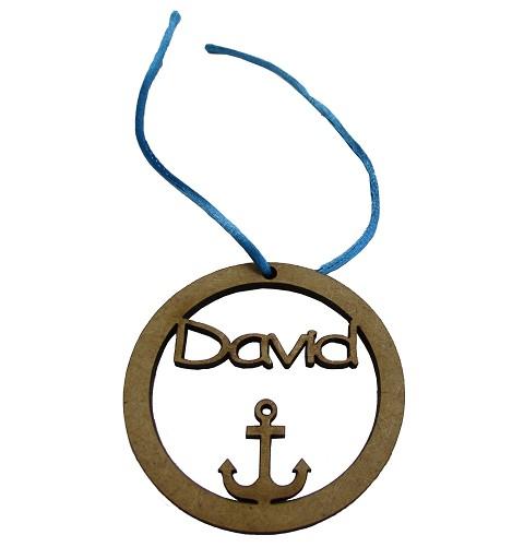Medalla con Ancla para...
