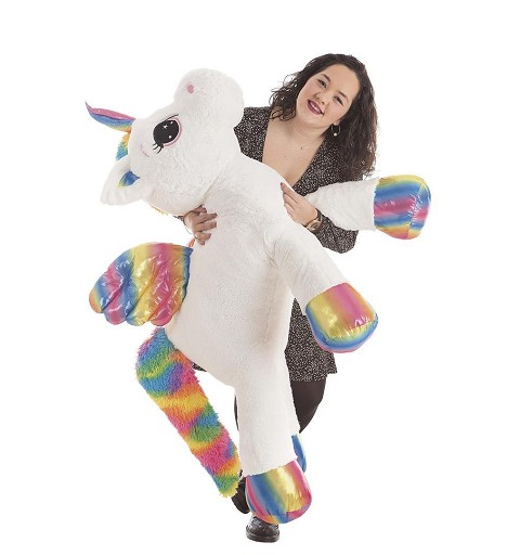 Unicornio Arcoiris de Peluche