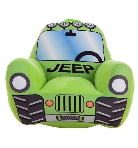 Sillón Infantil Jeep Verde