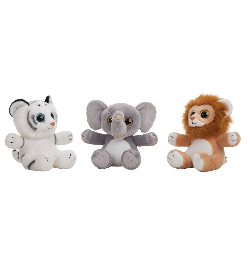 Animales Selva Ojotes -Leon-Tigre marron - Tigre blanco