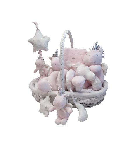 Canastilla Bebe Unicornio