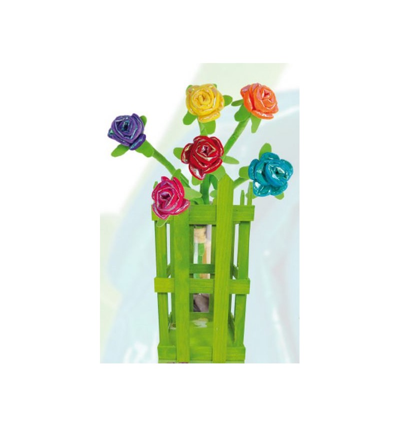 Rosas Brillantes set de 12