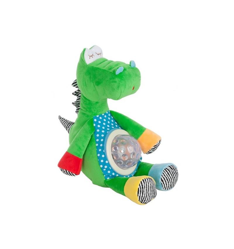 Dragon Verde Luz y Musica 30Cm